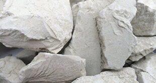 bentonite rock
